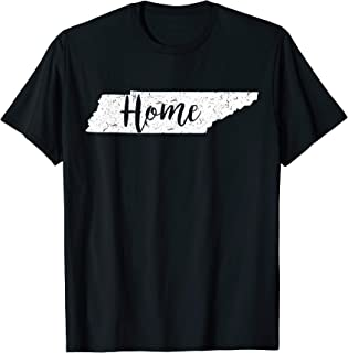 Tennessee Native Pride Home State Love Vintage Cute Shirt