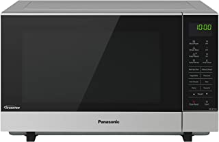 Panasonic Flatbed Inverter Microwave Oven, Stainless Steel Finish & 17 Cooking Functions (NN-SF574SQPQ)