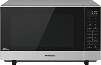 Panasonic Flatbed Inverter Microwave Oven, Stainless Steel Finish And 17 Cooking Functions (NN-SF574SQPQ)