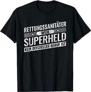 Sanitäter T-Shirt Bekleidung Ersthelfer Rettungsdienst Ausrüstung Notdienst 35