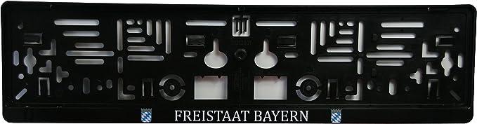 Iwh 12051 Kennzeichenhalter Schwarz Auto