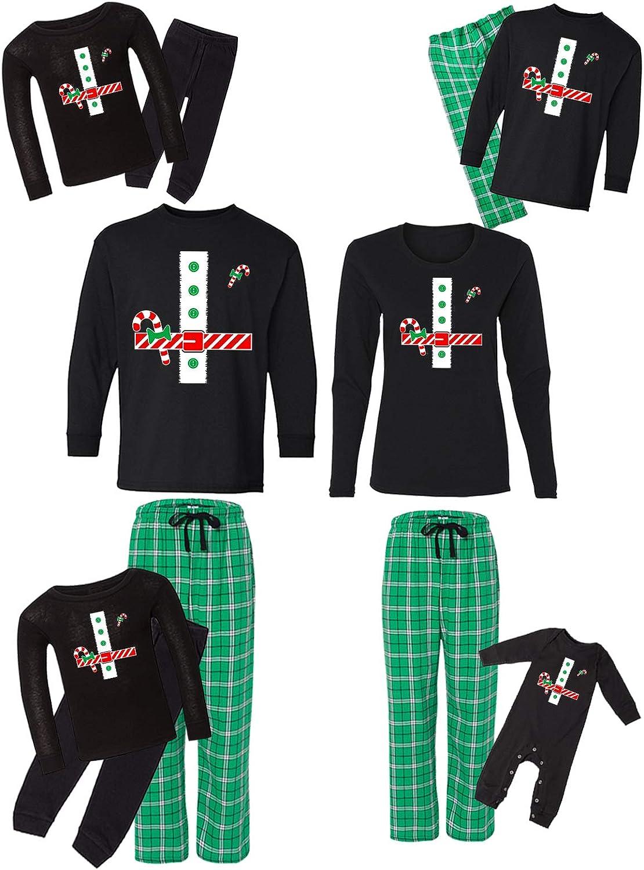 Awkward Product Styles Family Christmas Pajamas Ma Santa 2021 model Set Green Claus