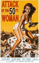 Attack of The 50 ft Woman poster 70 x 100 cms