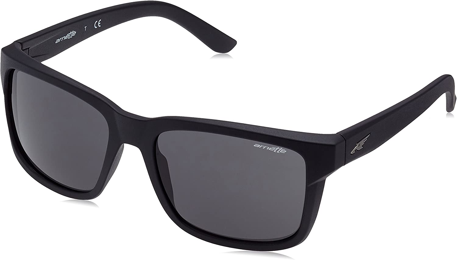 Arnette Sonnenbrille SWINDLE (AN4218) Noir (Matte Black/Gray)