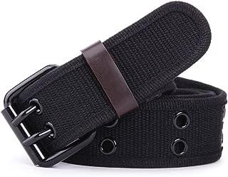 Aisoway Cintur/ón Para Hombre Vestido De Cuero De La Correa Del Remache Casual Dise/ño Cinturones Con Hebilla Grande Para Los Pantalones Vaqueros Ocasionales