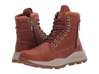 Timberland Brooklyn Side Zip Boot (Medium Brown Full-Grain) Men