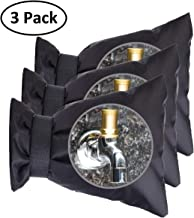 Feeke Outdoor Faucet Covers for Winter -Garden Faucet Socks -Water Sprinkle Valve Insulation Wrap -Hose Bib Protector Spout Cover -Outside Spigot Pipe Freeze Protection -Insulated Tap Pouch (3 Pack)