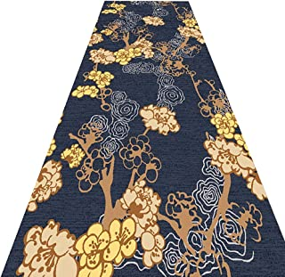 PPCP Long Runner Rugs Corridor Carpet Hallway Runner Rugs Floral Geometric Pattern Suitable for Corridors, Etc. Polyester ...