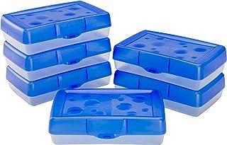 Storex Pencil Case, 8.38 x 5.63 x 2.5 Inches, Blue, Box of 24 (61613U24C)