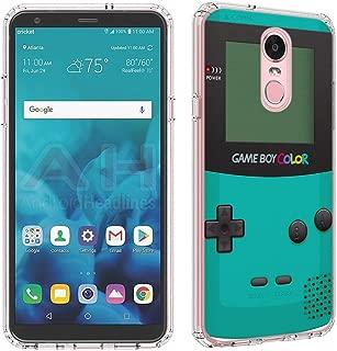 LG Stylo 4 Case [GameBoy Mint](Clear) PaletteShield Flexible Slim TPU skin phone cover (fit LG Stylo 4/Q Stylus)