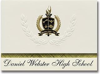 Signature Announcements Daniel Webster High School (Tulsa, OK) Graduation Announcements, Presidential style, Elite package...