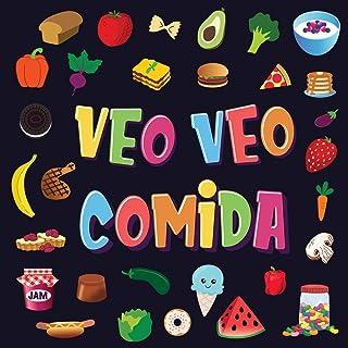 Veo Veo - Comida: Un Juego Maravilloso de Buscar y Encontrar para Niños de 2 a 4 Años   ¿Puedes ver la Comida que Comienza...