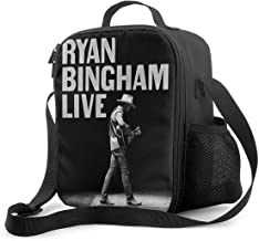 Honghuawenhua Tough & Spacious Ryan Bingham Reusable Insulated Work Lunch Bag with Adjustable Shoulder Strap