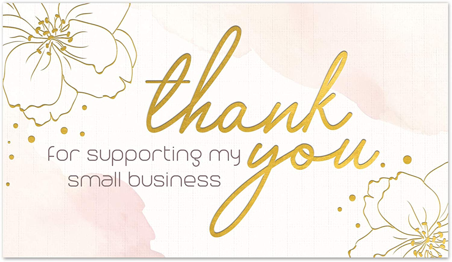 140 2021 Thank You For Supporting My Business Lo Premium Cards Very popular Small