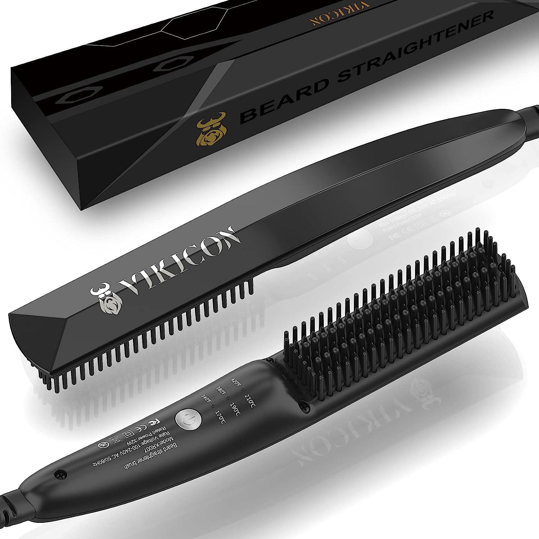 Spazzola da barba Lisciante Elettrica Vikicon