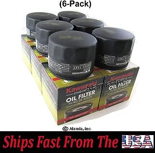 (6-Pack) Genuine Kawasaki Oil Filter, 49065-7007 Fits FS, FX. Series Engines
