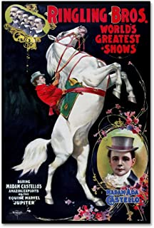 Circus 5 by Vintage Lavoie, 30x47-Inch Canvas Wall Art
