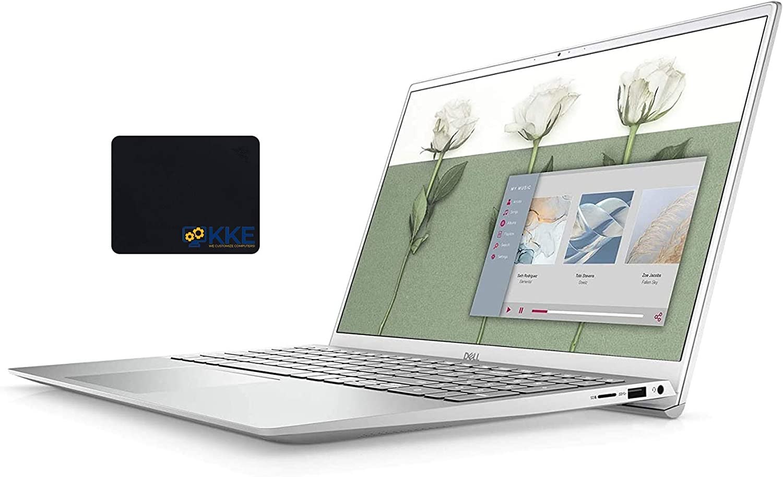 Dell Inspiron 5000 Series 15.6'' FHD Business Laptop, Intel Core i7-1165G7, 32GB RAM 1TB PCIe SSD, Webcam, Backlit Keyboard, FP Reader, KKE Mousepad, Windows 10 Pro (Renewed)
