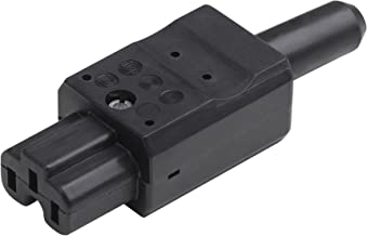 Meister Heetapparaat stekker - zwart - 250 V - 10 A - temperatuurbestendig tot 155 °C - met knikbescherming/unicontact app...