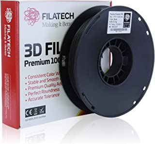 Filatech TPE Filament, Black, 1.75mm, 0.5 kg, Made in UAE