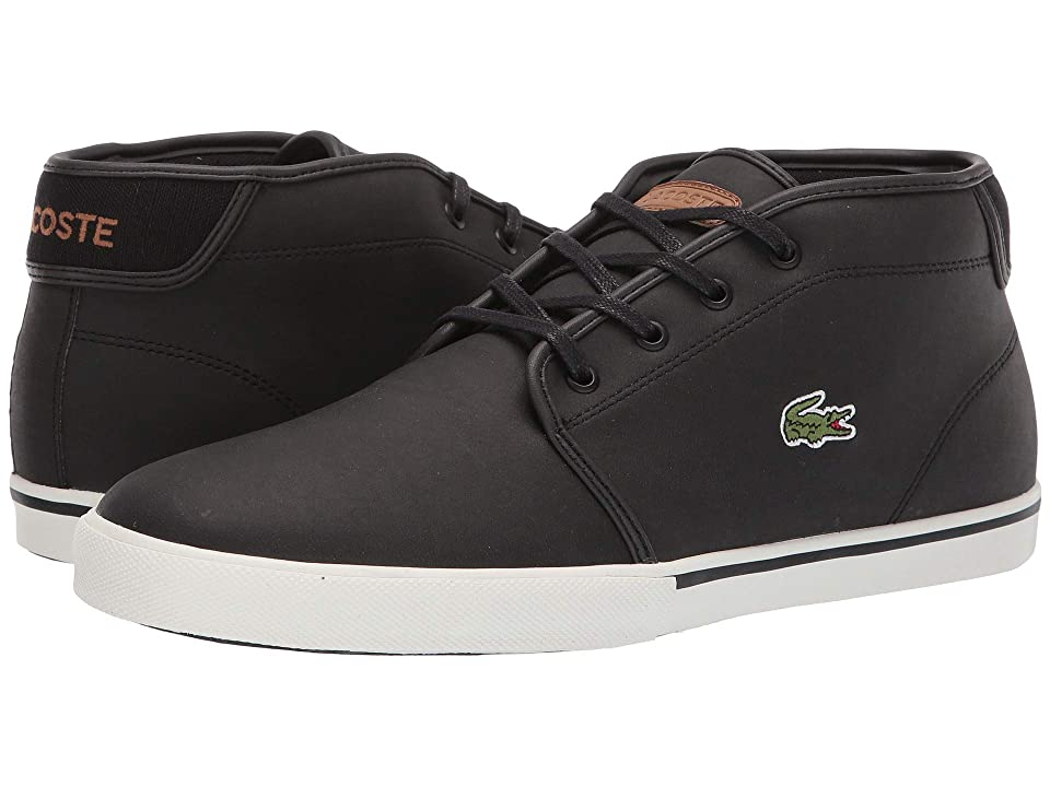 fa43885cb0cd Lacoste Ampthill 119 1 CMA (Black Light Brown) Men