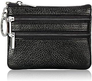 Dylandy portamonete borsa in tela Cartoon Owl modello Mini portafoglio da donna o ragazza carino zipper Headset contanti immagazzinaggio del supporto per chiavi ID di rossetto 11.5cmX10cmX3cm A