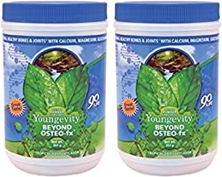 2 Pack Beyond Osteo FX Powder 357g Canisters Youngevity Calcium Bone Health (Ships Worldwide)