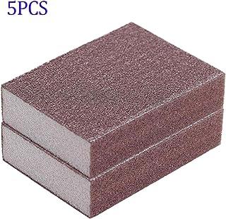 LAQI Carborundum Esponja de la Limpieza de los Platos Ollas Cuencos Fregaderos mágico Esponja del Borrador eliminador de Manchas de descalcificación Pad Nano 5Pcs