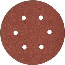 DEWALT DW4334 6-Inch 6-Hole 150-Grit Hook and Loop Random OrBit Sandpaper (5-Pack)