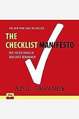 Checklist Manifesto: Wie Sie die Dinge in den Griff bekommen Audible Audiobook