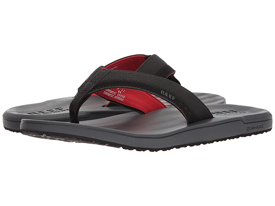 Reef Contoured Cushion (Grey/Red) Men