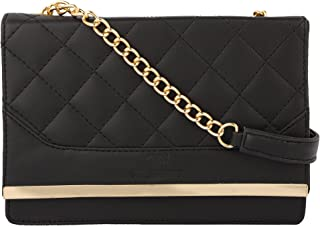 GM CREATIONS™ Latest Trendy Stylish Crossbody Leatherette Chain Sling bag With Non-Detachable Chain strap bag Ladies & Gir...