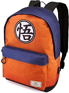 Dragon Ball Symbol - Mochila Tipo Casual, Multicolor, 42 cm