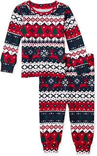 The Children's Place Baby Boys Christmas Pajama Set