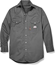 RASCO Men's Flame Resistant Long Sleeve Work Shirt Big and Tall - Gr754-Tll
