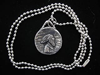 St Columban, Patron / Protector of Motorcyclists, Handmade Necklace