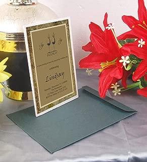 Acrylic Invitations Wholesale   Liquor Party Acrylic Invitation with Envelopes   Wine Party Favor   009