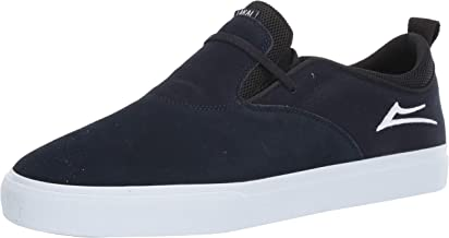Lakai Footwear Riley 2 Navy Suedesize Tennis Shoe, Navy Suede