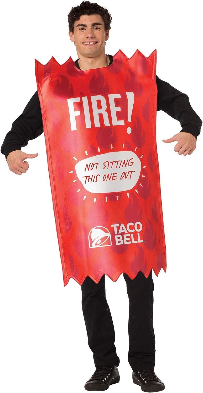 Rasta Imposta - Taco Bell Packet Fire Tunic Costume