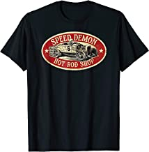 SPEED DEMON T Shirt! Vintage Cool Hot Rod