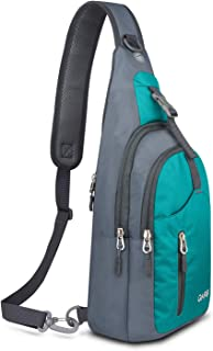 Sling Bag Shoulder Backpack Crossbody Purse for Hiking Camping