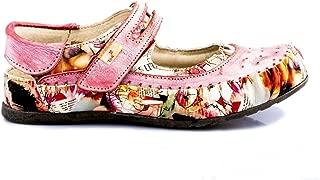 TMA 5068 Bequemer Damen Halbschuh Ballerinas Sandaletten schwarz alle Gr 36-42