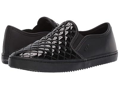 Geox Kids Jr Kalispera 27 (Big Kid) (Black Oxford) Girls Shoes