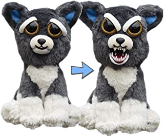 William Mark- Feisty Pets: Sammy Suckerpunch- Adorable 8.5 Plush Stuffed Dog That Turns Feisty With A Squeeze by William Mark [並行輸入品]