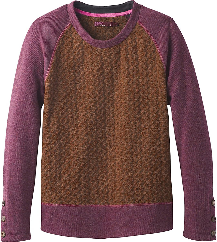 PrAna Women's Aya Sweater, Auburn, L