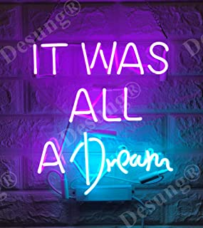 Best it was all just a dream neon sign Reviews