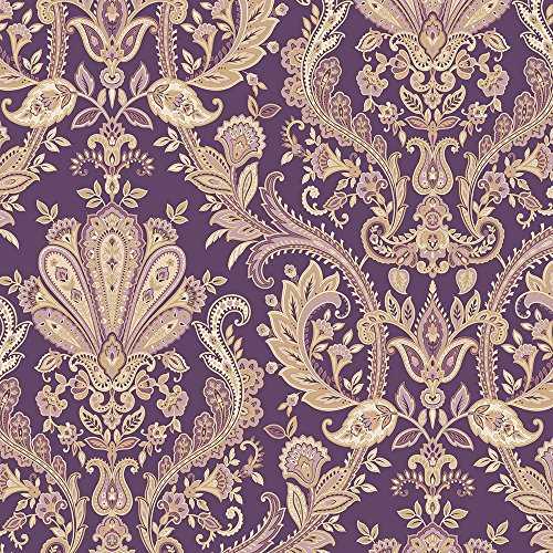 Norwall MD29427 Jacobean Paisley Wallpaper