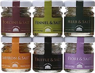 Casina Rossa Gourmet Sea Salt Gift Pack - 6 x 1.1 oz. Jars