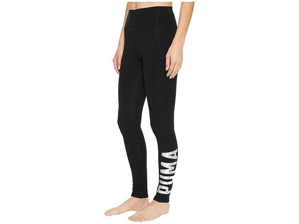 PUMA Athletic Leggings (PUMA Black Foil) Women