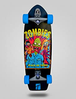 TXIN - Surfskate Zombie Town 29 with T12 Surf Skate Skate...